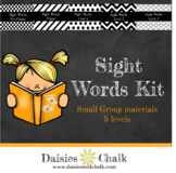Sight Word Task Cards/Small Groups Bundle
