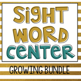 Sight Word Center Bundle