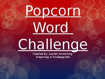 Sight Word Challenge-List 2-First Grade