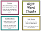 Sight Word Chants