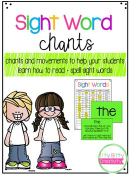 Sight Word Chants & Gestures