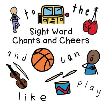 Sight Word Chants and Cheers Cards