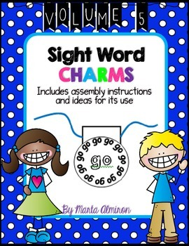 Sight Word Charms - Vol. 5