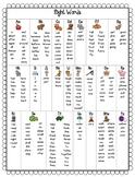 Sight Word Chart