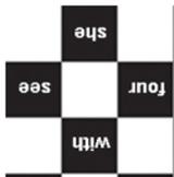 Sight Word Checker Board & Lesson Plan