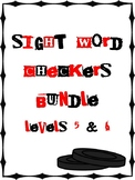 IRLA Aligned Sight Word Checkers Levels 5 & 6