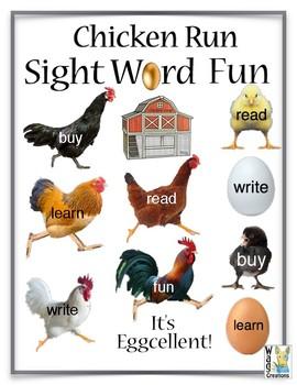 Sight Word Fun Chicken Run