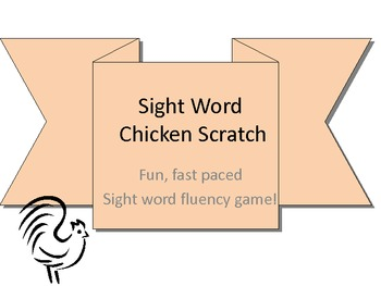 Sight Word Chicken Scratch