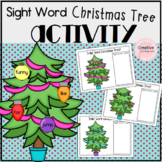 Sight Word Christmas Tree Literacy Center