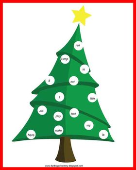 Sight Word Christmas Tree Review