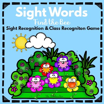 Kindergarten-Special Education- Sight Word Class Game -Fin