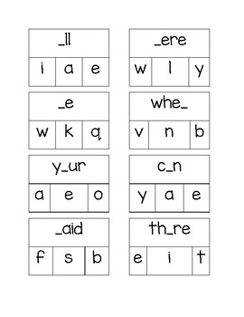 Sight Word Clip Cards 24-47