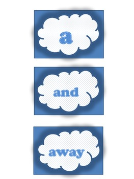 Sight Word Clouds