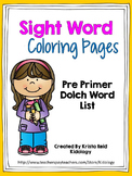 Sight Words / Word Work / Sight Word Practice / Sight Work Worksheets