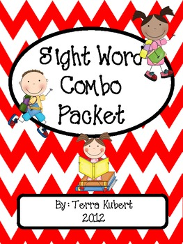 Sight Word Combo Packet (Dolch List)