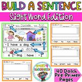 Build a Sentence- Sight Word Edition {Sentence Scrambles 1}
