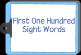 Sight Word Computer Video