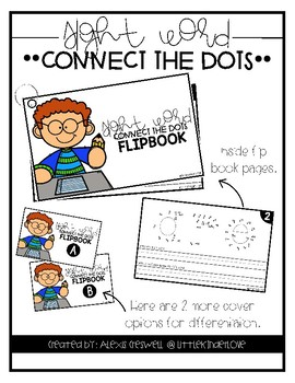 Sight Word Connect the Dots