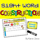 Sight Word Construction Mats {Dolch Primer Words}