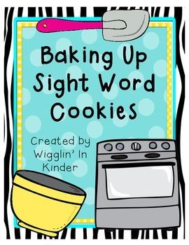Sight Word Cookie Fun! - Building  Sight Words {Freebie}