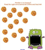 Sight Word Cookie Monster Game for the Smart Board