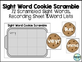 Sight Word Cookie Scramble