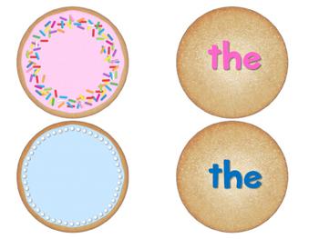 Sight Word Cookies