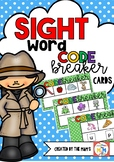 Sight Word Crack the Code Cards