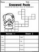 Sight Word Crossword Puzzles FREE (Aligned to Journeys Kindergarten & 1st Grade)