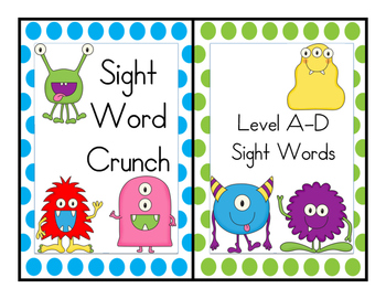 Sight Word Crunch