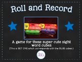 Sight Word Cube Activities - Set 1