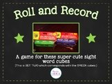 Sight Word Cube Activities - Set 2
