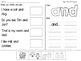 Sight Word Cut and Paste