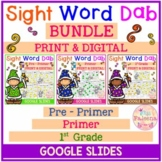 Sight Word Dab Bundle