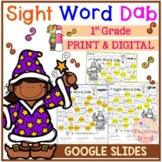 Sight Word Dab (First Grade)