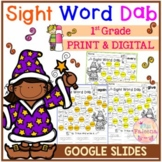 Sight Word Dab (First Grade)