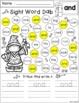 Sight Word Dab (Pre-Primer)