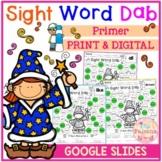 Sight Word Dab (Primer)
