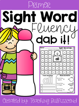 Sight Word Dab (Set 2)