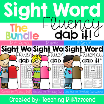 Sight Word Dab (The Bundle)