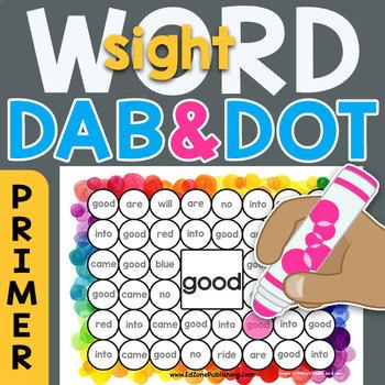 Sight Word Dab n' Dot Sheets: Dolch 220 Primer