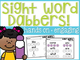 Sight Word Dabbers