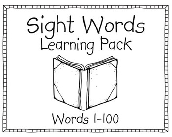 Sight Word Daily Practice Pack