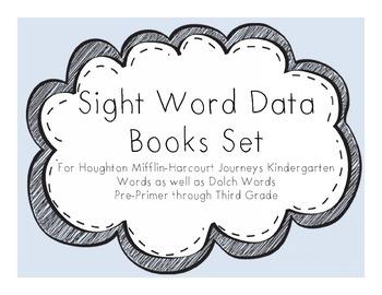 Sight Word Data Books