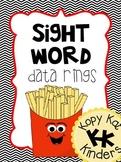 Sight Word Data Ring - 1st 100