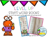 Sight Word Data Tracking Books