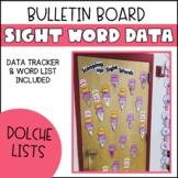 Sight Word Data Wall