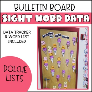 Sight Word Data Wall