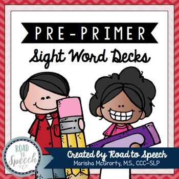Sight Word Decks {Pre-Primer}