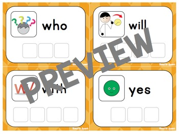 Sight Word Decks {Primer}
